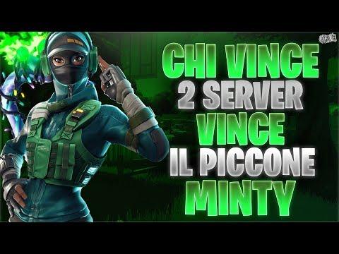REGALO IL PICCONE MINTY A CHI VINCE DUE SERVER PRIVATI! Live Fortnite ITA! Code: MANUCDN