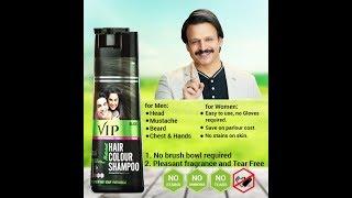 User review VIP Hair Colour Shampoo   How to apply   Easy Hair dye