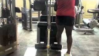 Calgary Fitness Tutorial: Standing Hamstring Raises