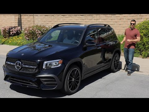 2020 Mercedes-Benz GLB Test Drive Video Review