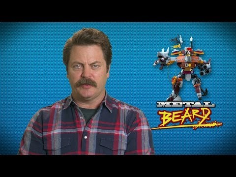 The Lego Movie Nick Offerman 'This Friday' Spot
