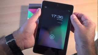 Nexus 7 Tablet von Google im Test und Gebrauch (Folge 22 von Caulius probiert es aus)