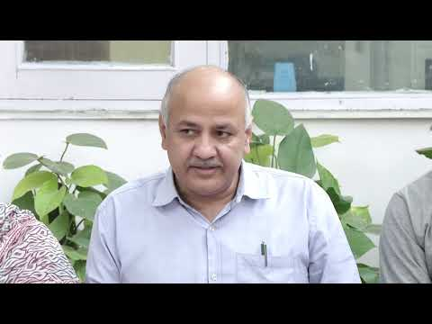 Senior AAP Leader Manish Sisodia Gives Briefing saying that BJP deleted 10 lakh Voters from the List