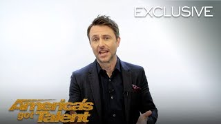 Chris Hardwick Chats About The Inspiration Behind His Golden Buzzer - America