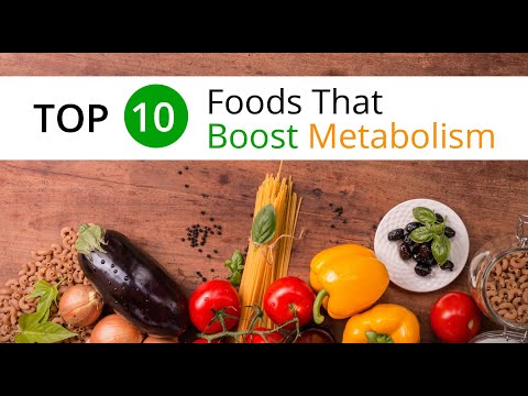 Top 10 Foods That Boost Metabolism