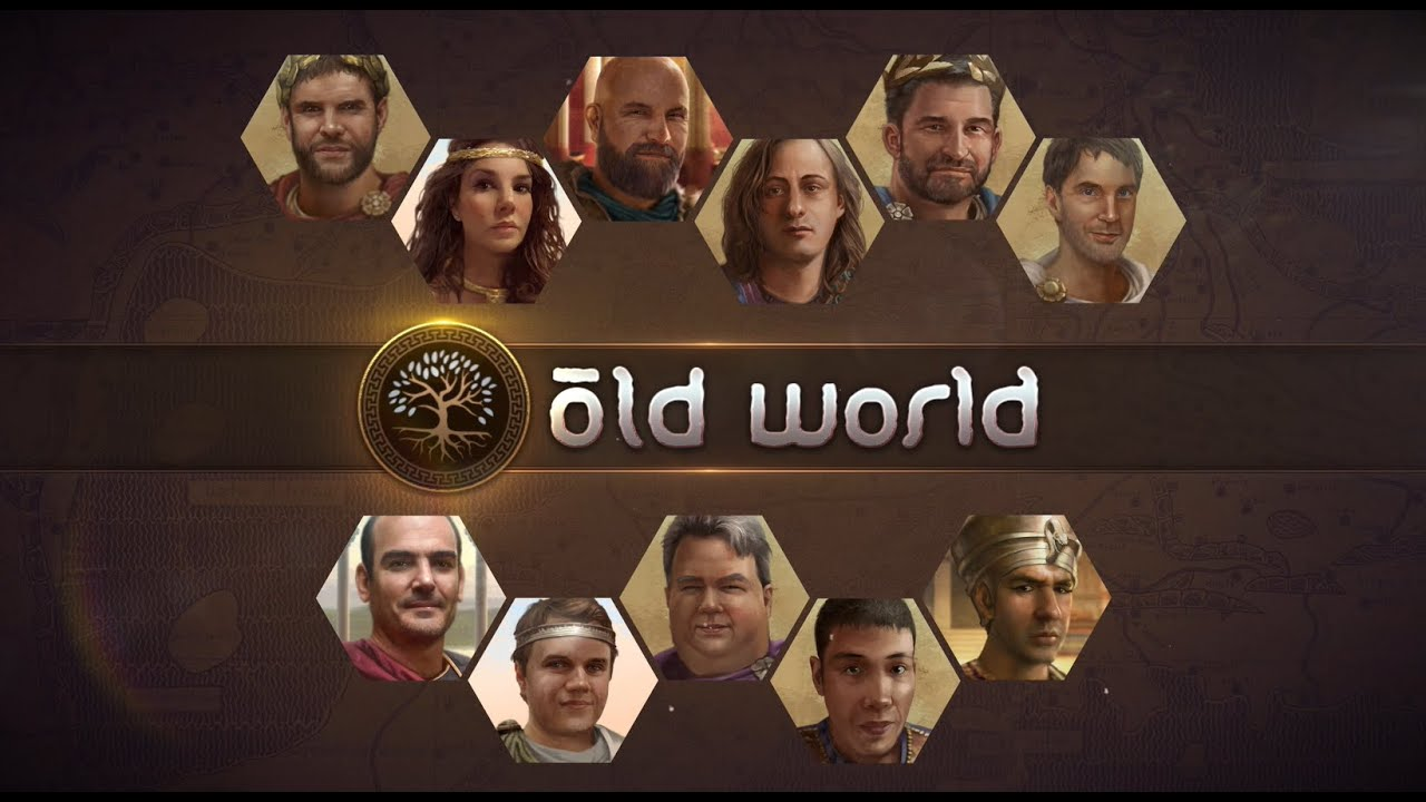 Old World Announced for Early Access on Epic Games Store