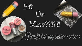 Benefit Boi-ing Erase Case Review & Tutorial !!