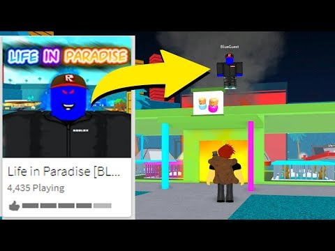Download Blue Guest Took Over Life In Paradise Roblox Video 3GP Mp4