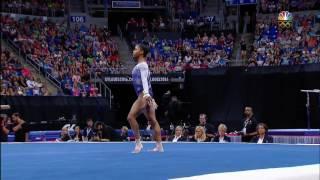 Gabby Douglas - Floor - 2016 P&G Gymnastics Championships - Day 2
