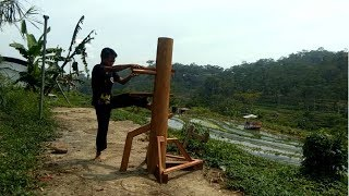 Wing Chun WOODEN DUMMY Real Fighting