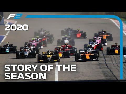 フォーミュラ2 2020年シーズンを12分で振り返るダイジェスト動画