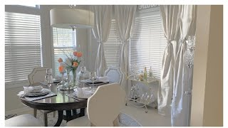 SUMMER DINING ROOM DECORATING IDEAS|LUXURY ON A BUDGET