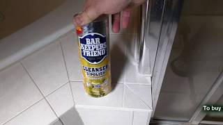 BEST Shower Door Cleaner -Bar Keepers Friend Multi Purpose Household Cleaner REVIEW
