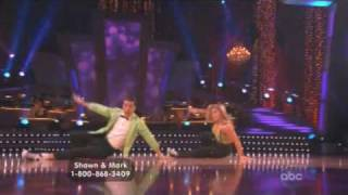 Shawn Johnson and Mark Ballas Dancing with the Stars Final Freestyle
