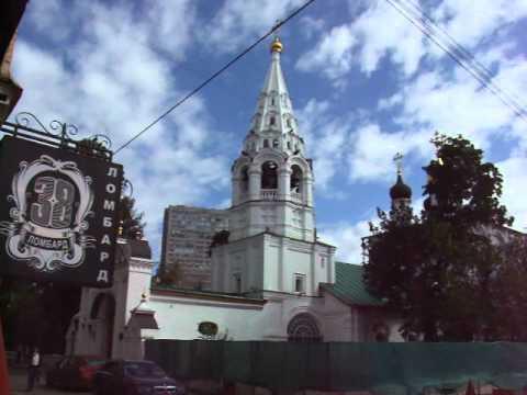 Перегородка в храме из икон