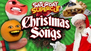 Every Annoying Orange Christmas Song! [Saturday Supercut🔪]