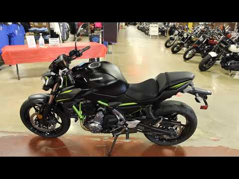 2019 Kawasaki Z650 ABS in New London, Connecticut - Video 1