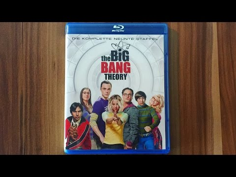 THE BIG BANG THEORY - STAFFEL 9 - Blu-ray Unboxing [UHD]