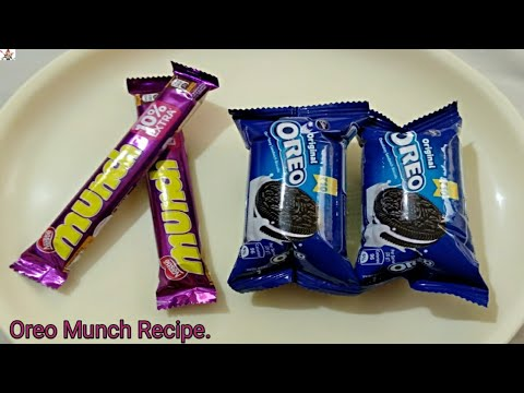 Oreo & Munch Recipe | Chocolate Peda Recipe | Fireless Cooking Recipe | Instant Chocolate Recipe |