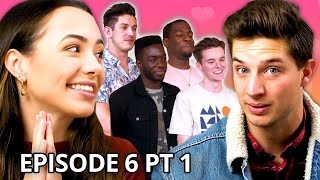 Christian Seavey vs. My 4 Boyfriends | Twin My Heart w/ The Merrell Twins Season 2 EP 6 Pt 1