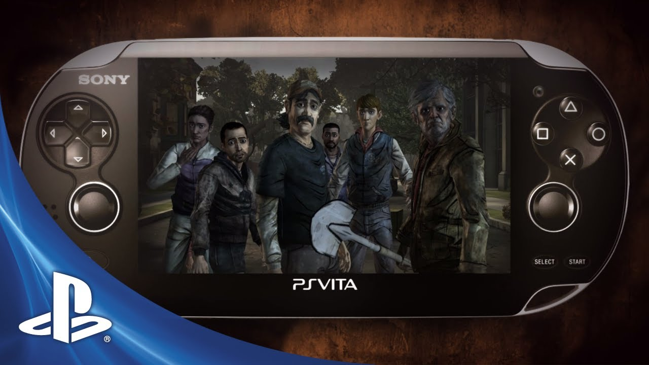 The Walking Dead Invade o PS Vita Amanhã