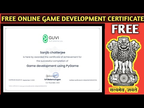 Game development certificate course 2020   Guvi Course with ...