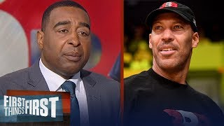 Cris Carter wonders why a player would trust LaVar Ball with their career | FIRST THINGS FIRST - dooclip.me