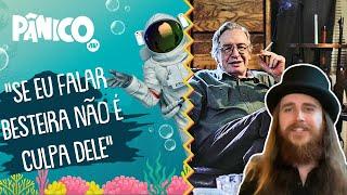 Rasta conta como foi de esquerdista a discípulo de Olavo de Carvalho