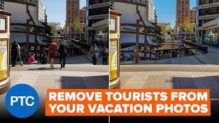 Remove Tourists From Photos In Photoshop - Stack Mode Tutorial