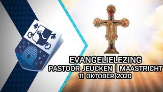 Evangelielezing pastoor Jeucken | Maastricht - 11 oktober 2020 - Peel en Maas TV Venray
