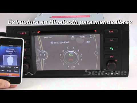 Reproductor DVD del coche sistema de navegación GPS para 1996-2003 BMW 5 E39 Series BMW 525d 525td