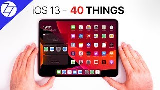 iOS 13 - Top 40 BEST NEW Features!