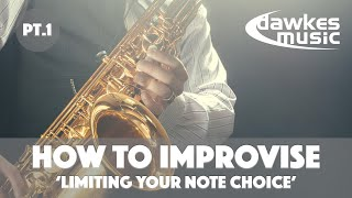How to Improvise _ Educational videos from Dawkes Music.