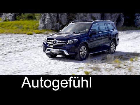 New Mercedes GLS 350d 4MATIC Preview  Exterior Interior (rename with GL Facelift)