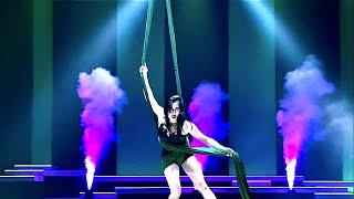 Mizuki Aerial Silks Full Act Cirque Du Soleil -VITORI-  シルクドゥソレイユ  品川瑞木  エアリアルシルク パフォーマンス