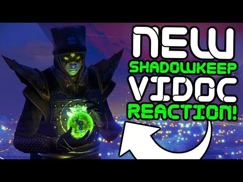 Destiny 2 - NEW SHADOWKEEP ViDoc Live Reaction and Discussion!!