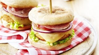 Cheeseburger di pollo e Appenzeller® Video