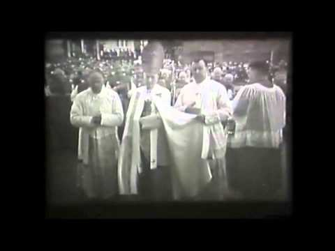 Dedication of the Galway Cathedral 1965