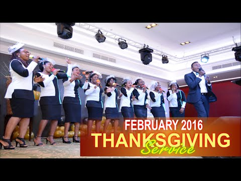 RCCG Grace Assembly Dubai- February 2016 THANKSGIVING SERVICE