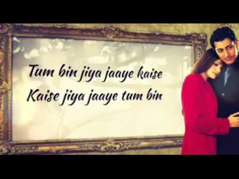 Tum bin Jiya jaye kaise / what's app lyrical video