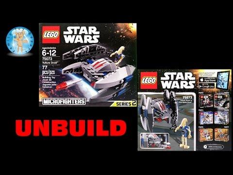 Vidéo LEGO Star Wars 75073 : Droid Vautour