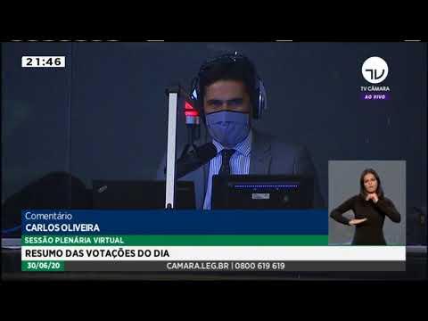 Texto-base de MP que suspende obrigatoriedade de dias letivos é aprovado - 30/06/20