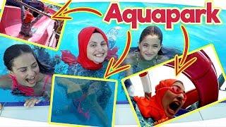 AQUAPARK - Aksiyon Kamerası ile Sualtı Çekimi ve Kaydıraklı Aquapark Eğlencemiz Fenomen Tv