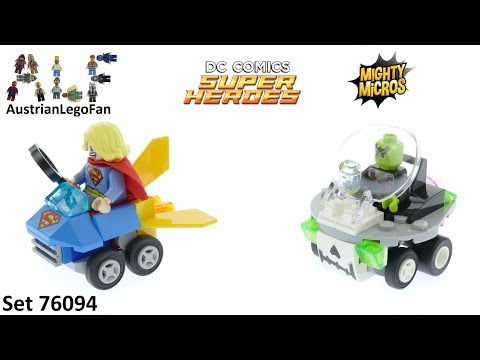 Vidéo LEGO DC Comics Super Heroes 76094 : Mighty Micros : Supergirl contre Brainiac