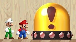 Newer Super Mario Bros Wii Co Op (2 Player) Walkthrough   Part 1   Yoshi's Island
