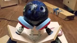 DIY Bowling Ball Spinner Станочек для полировки шаров своими руками