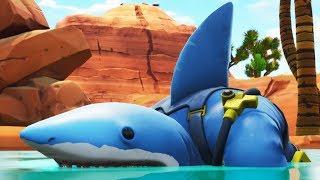 JAWS: Shark Attack!   A Fortnite Film