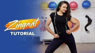 Zingaat Song  From Dhadak Dance Tutorial By Aditi From Dancercise