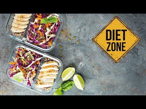 Il cibo compensato di proteine di grassi di carboidrati in