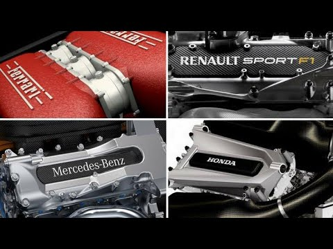 Image: LISTEN! Ferrari, Honda, Mercedes and Renault engine startups and revs